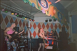 Image of Showband, 'Maniac', Seashore Holiday Camp, Great Yarmouth, 1991