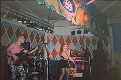 Image of Showband, 'Maniac', Seashore Holiday Camp, Great Yarmouth, 1991