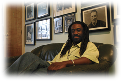 Will Calhoun in his Sitting room?