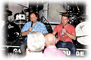 Ralph Salmins & Karl Brazil, Q&A session, The Cavern, 2011