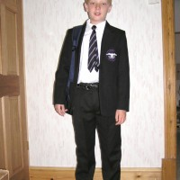 First day at school picture