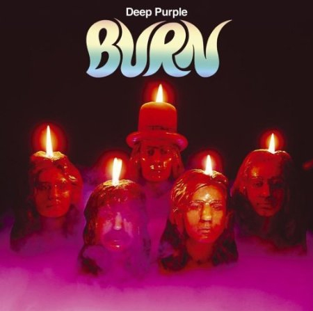 Deep Purple's 'Burn' album cover
