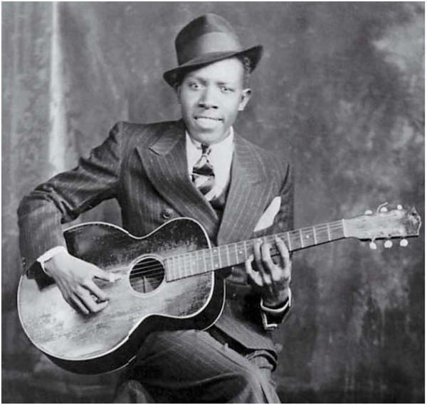 Robert Johnson in dapper looking suit