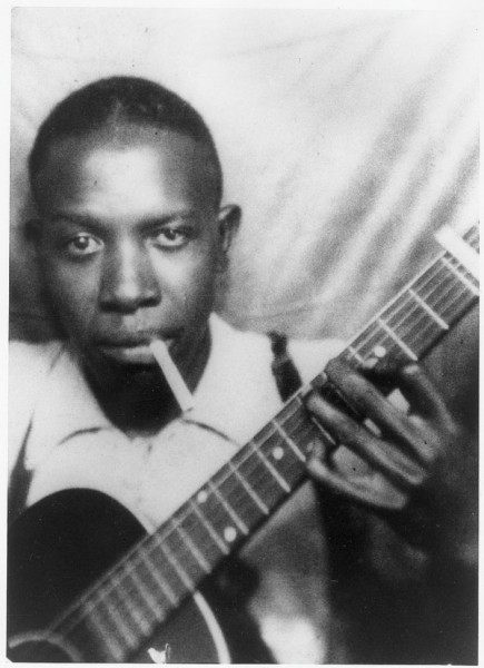 Robert Johnson in his scruffs!