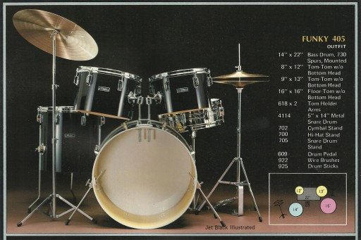 Maxwin 'Funky' Drum Kit