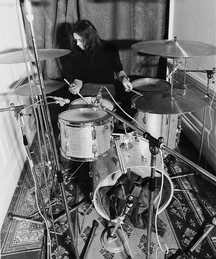 Ian Paice recording 'Machine Head' in Montreaux