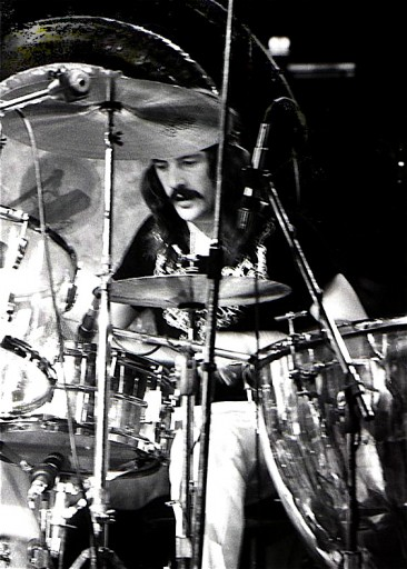 'John Bonham 1975' by Dina Regine