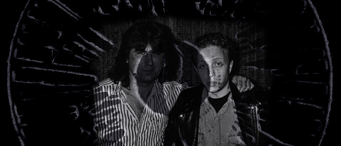 Cozy Powell with Nick Lauro