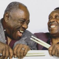 "John ""Jabo"" Starks and Clyde Stubblefield"
